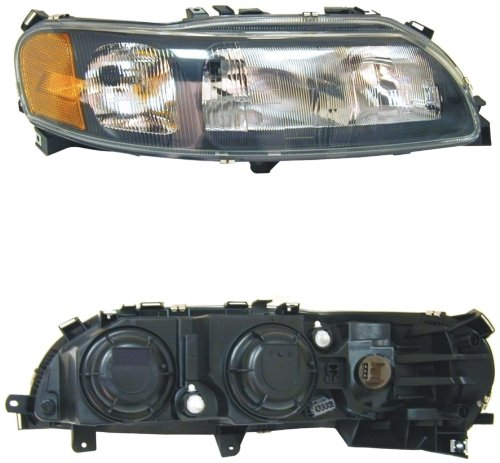 URO Parts 8693564 Right Headlight Assembly with Bulbs