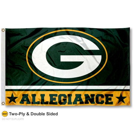 Green Bay Packers Allegiance Two Sided Flag