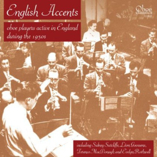 English Accents: Oboe Players Active in England by