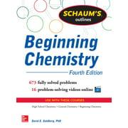 Schaum's Outline of Beginning Chemistry - eBook