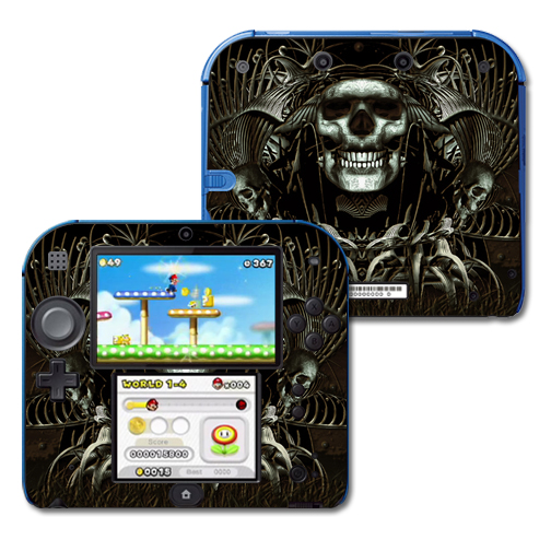 Mightyskins Protective Vinyl Skin Decal Cover for Nintendo 2DS wrap sticker skins Wicked