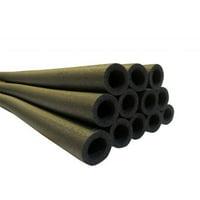 Upper Bounce UBFS37-1D-BK-S16 37 Inch Trampoline Pole Foam sleeves, fits for 1 in. Diameter Pole - Set of 16 -Black