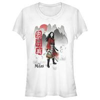 Disney Mulan Juniors' Foggy Mountains T-Shirt