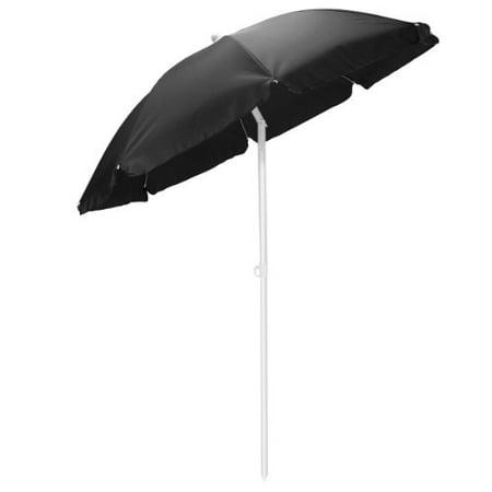 5.5 Portable Beach Umbrella, (Black) - image 1 of 1