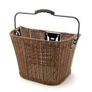 XLC, front Hbar Basket Wicker Type Brn