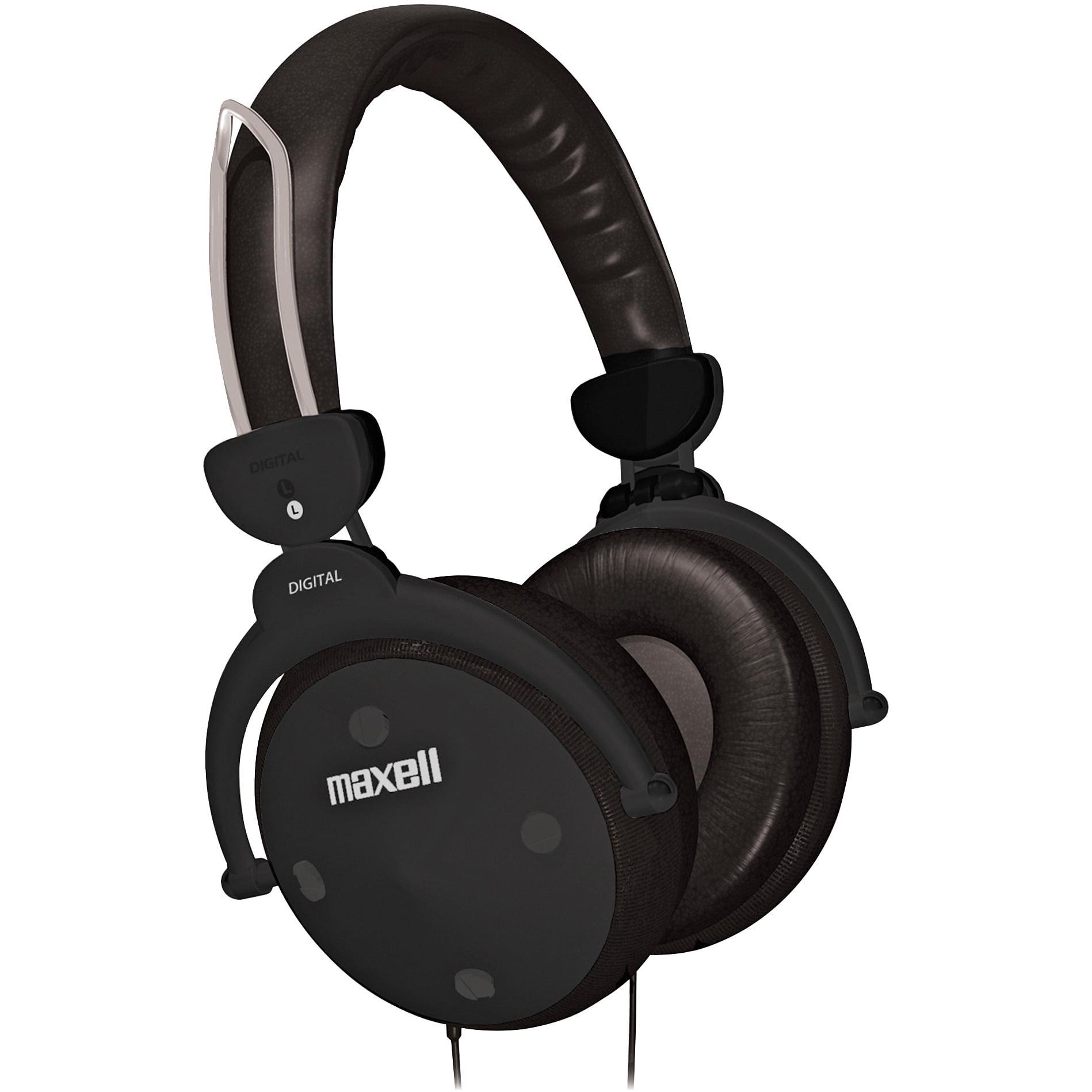 Maxell, MAX190562, HP-550 Digital Foldable Full Ear Headphones, 1