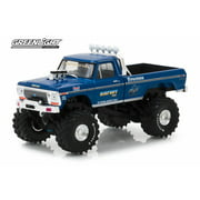 Ford F-250 Pickup, BIGFOOT The Original Monster Truck - Greenlight 86097 - 1/43 scale Diecast Model Toy Car