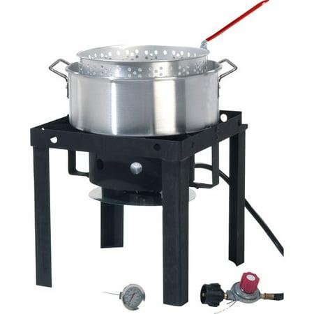 Grillsmith 10 Qt Fish Fryer Amp Outdoor Cooker Walmart Com