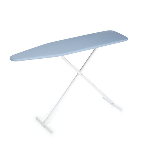 Homz T-Leg Ironing Board with Blue Cover