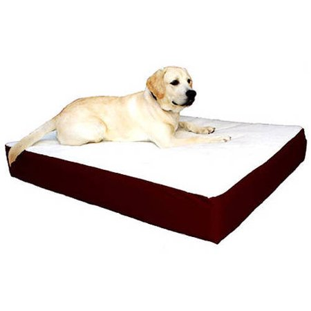 large extra large 34x48 majestic pet orthopedic double pet bed removable cover multiple colors. Black Bedroom Furniture Sets. Home Design Ideas
