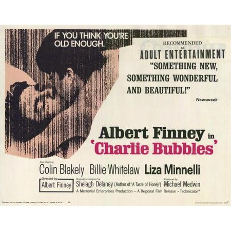 - Charlie Bubbles POSTER Movie Mini Promo