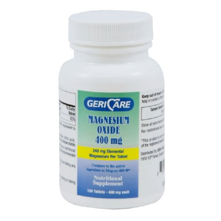 Geri-Care Mineral Supp. Tablet 400 mg 634-12-GCP 1 Bottle(s), 120 per Bottle 100 Mg Minerals