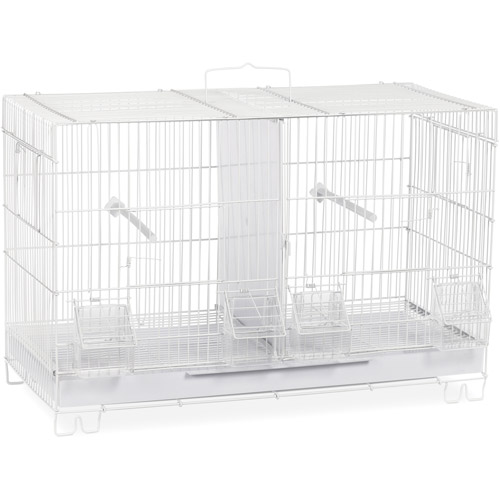 Prevue Pet Products Breeder Cage, White