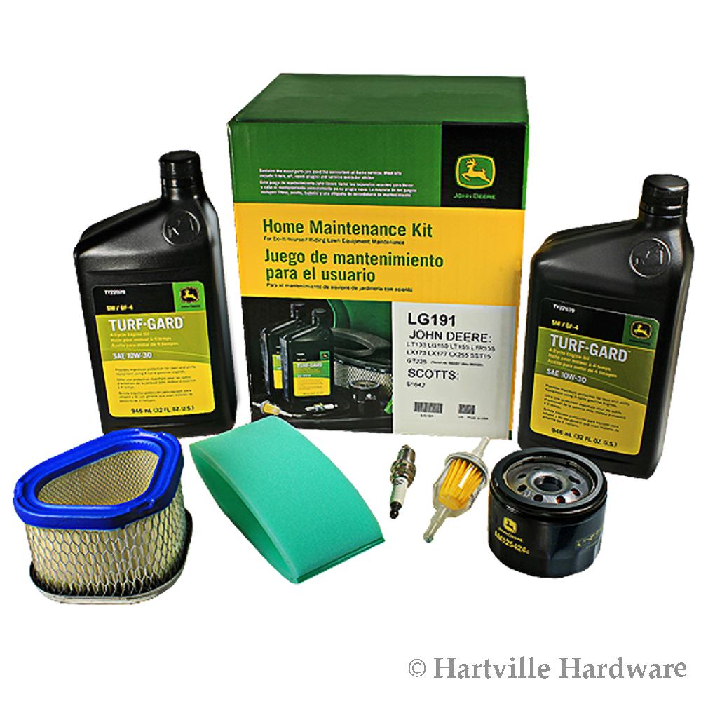 John Deere Lg191 Home Maintenance Kit Lg150 Lt133 Lt155 Ltr155 Lx173 Lt150 Wiring Harness Lx177 Lx255