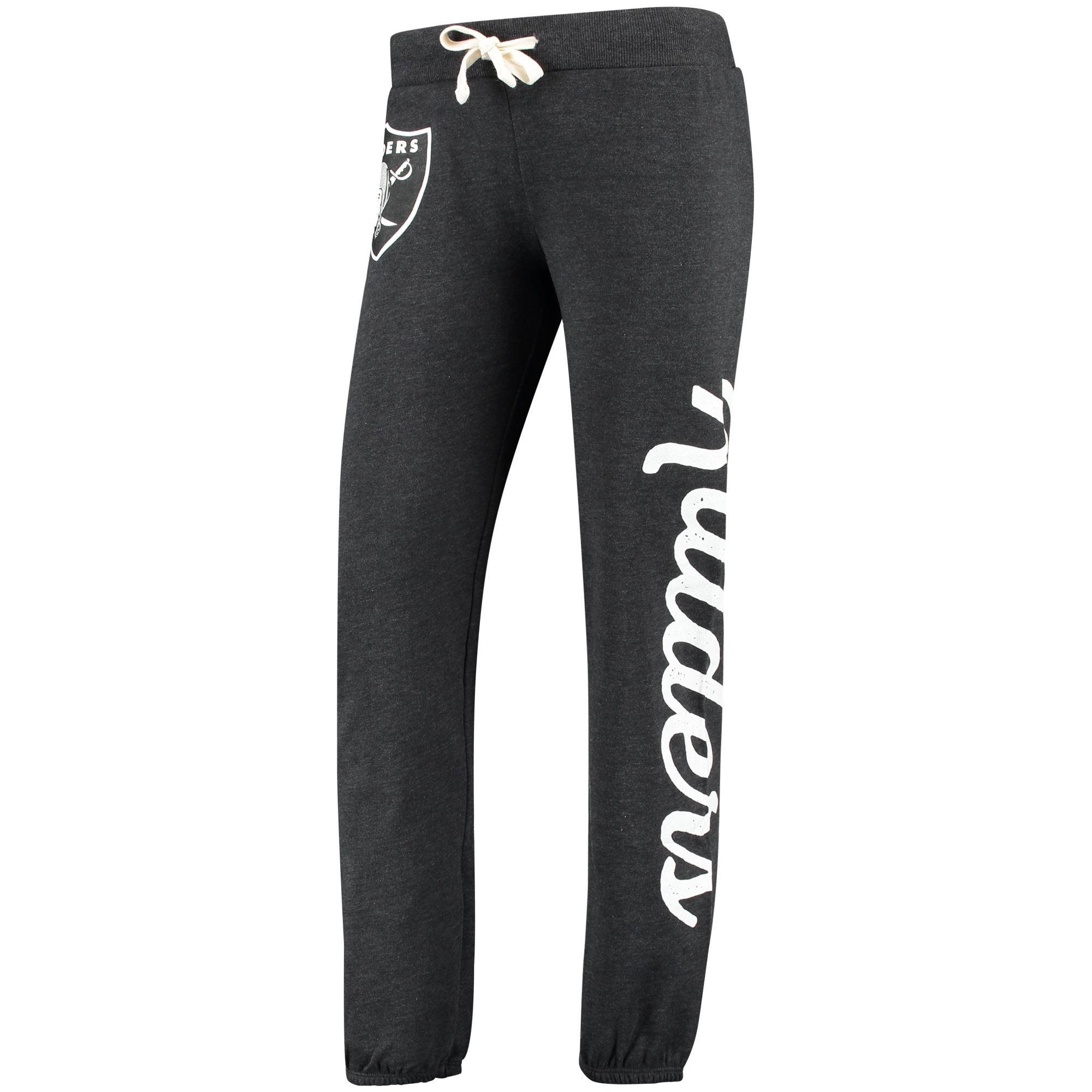 Oakland Raiders G-III 4Her by Carl Banks Women's Scrimmage Pants - Black