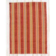 CLM Chatham Red Clay Stripe Area Rug