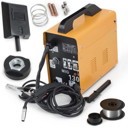 Zimtown MIG 130 Electric Welder Welding Machine Kit Set 1...
