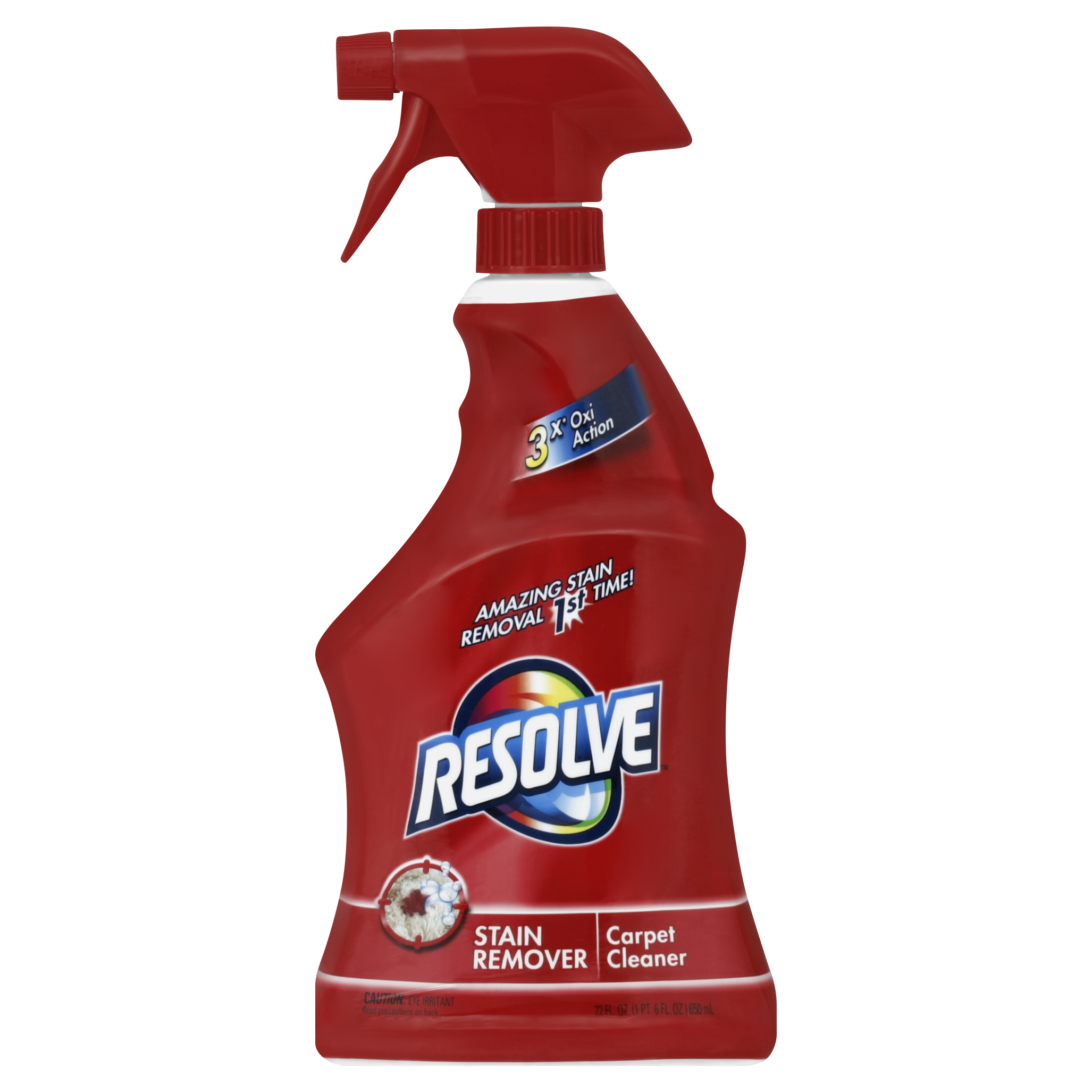 Resolve Stain Remover Carpet Cleaner 22 Fl Oz Spray Bottle Walmart