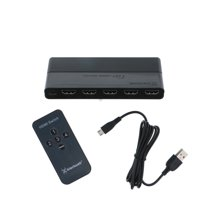 Blackweb 4-Device HDMI Switch with Remote Control
