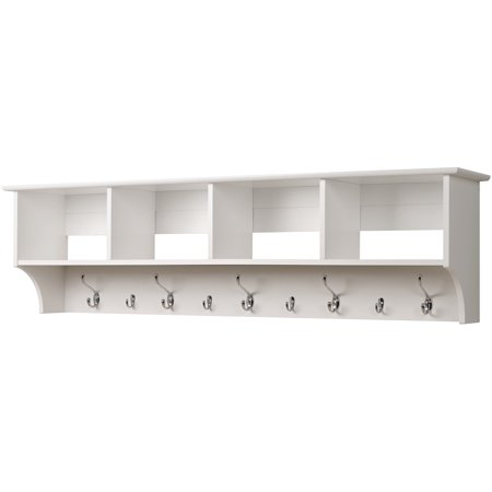 Prepac Hanging Entryway Wall Shelf, 60