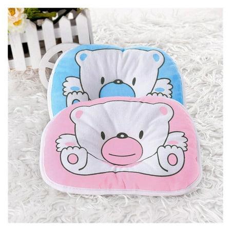 Bear Pattern Pillow Newborn Infant Baby Support Cushion Pad Prevent Flat Head Newborn Infant Baby Cute - image 2 de 5
