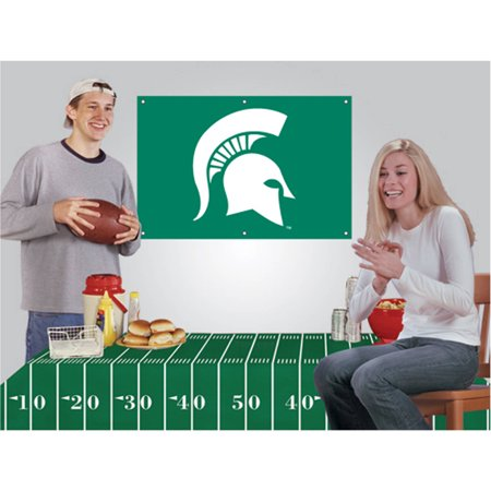 NCAA Football Party Kit, Michigan State Spartans