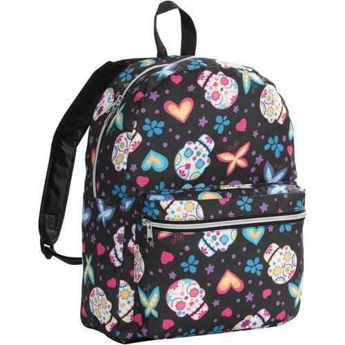 """Sugar Skullettes 16"""" Backpack"""