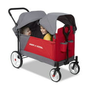 Radio Flyer, Discovery Stroller Wagon with Canopies, Folding Wagon