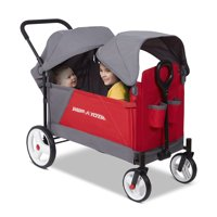 Radio Flyer Discovery Stroll N Wagon with Canopies