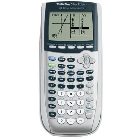 Refurbished Texas Instruments TI-84 Plus Silver Edition Graphing Calculator Silver Handheld (Programming The Ti 83 Plus Ti 84 Plus)