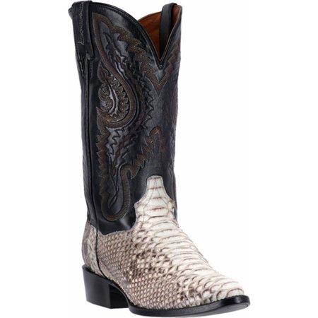 Dan Post Men's Natural Omaha Python Cowboy Boot  - Dpp3036 - Post Office Hours Omaha