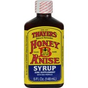 Thayers Honey-B-Anise Sore Throat Syrup - 5 Fl Oz (Pack Of 10)