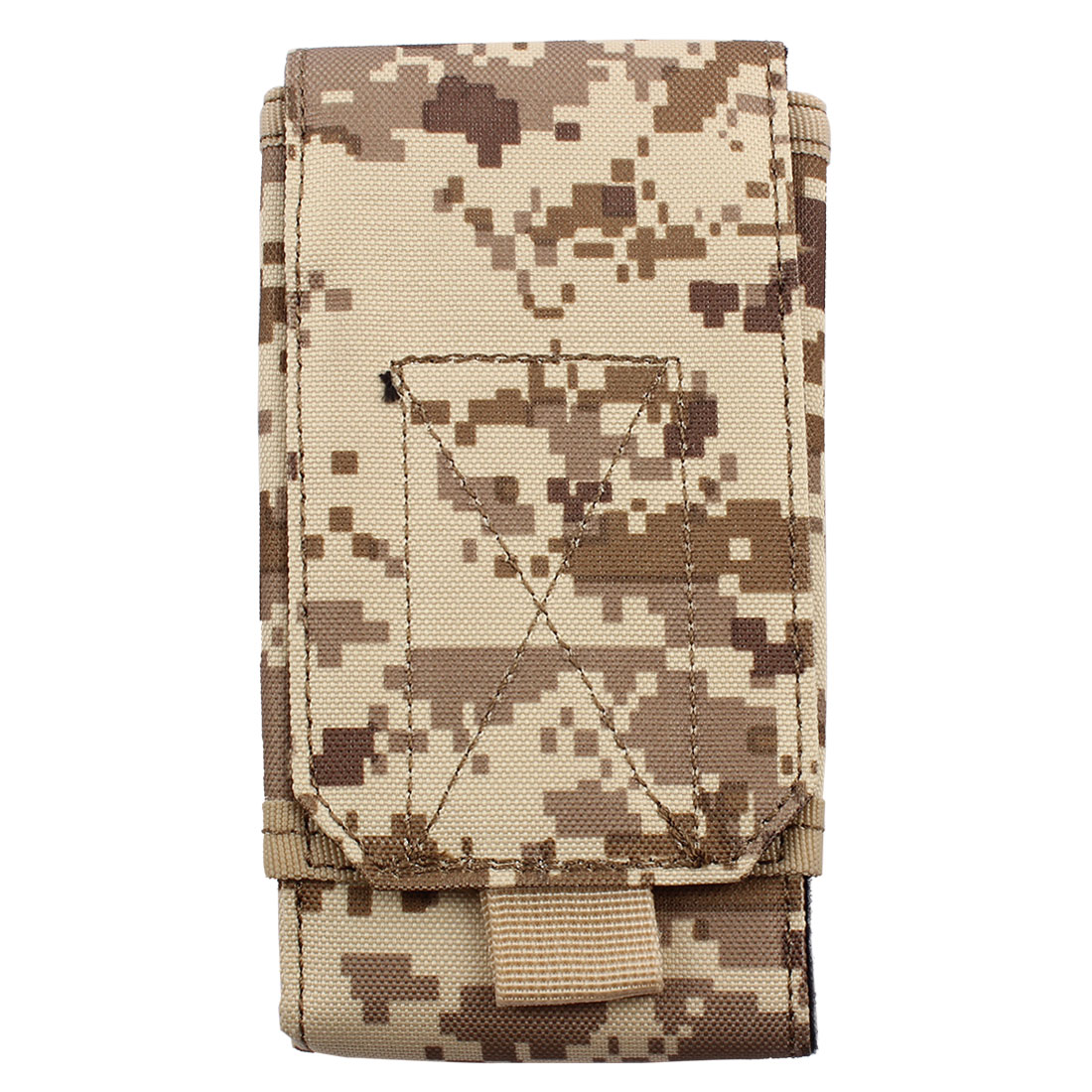 Cell Phone Outdoor Canvas Rectangle Design Bag Holder Pocket Carry Pouch