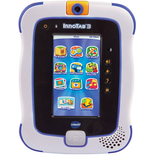 VTech InnoTab 3 The Learning App Tablet, Blue