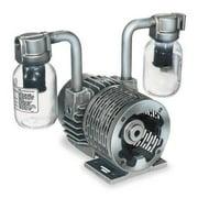 GAST 2067-V108 Pump,Vacuum,1 HP