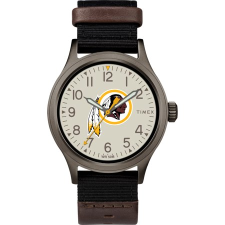 (Timex - NFL Tribute Collection Clutch Men's Watch, Washington Redskins)