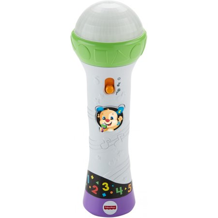 Fisher Price Laugh   Learn Rock   Record Microphone