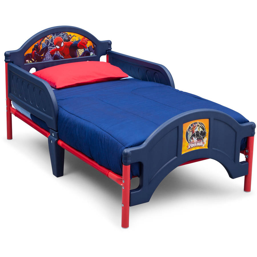 Delta Children Spider-Man Plastic Toddler Bed