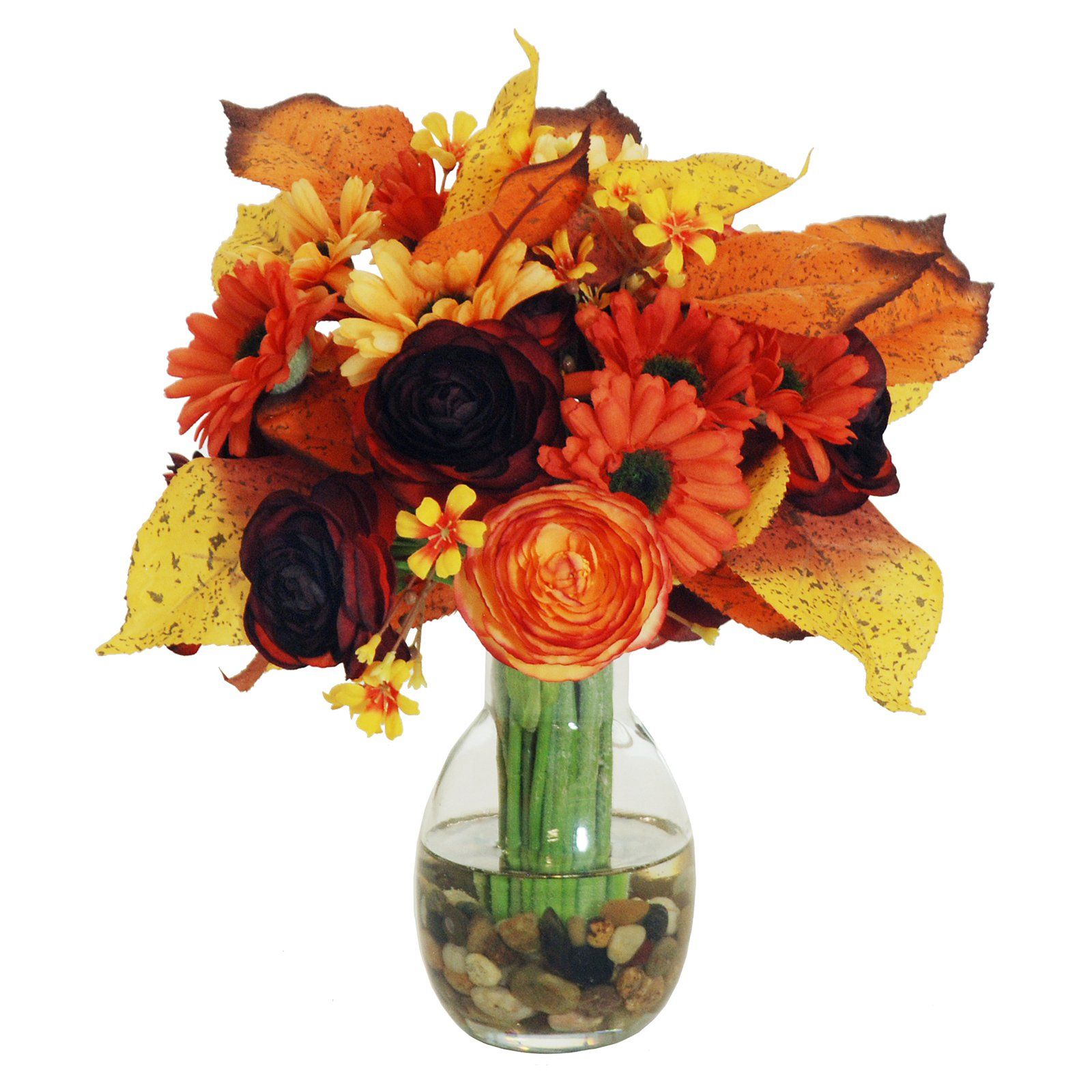 Jane Seymour Botanicals 11 in. Fall Fun Colors Bouquet wi...