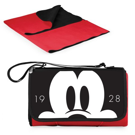 Picnic Time Disney Mickey Mouse Outdoor Picnic Blanket Tote - Red