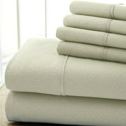 Colonial Home Textiles Kensington Hotel 6-Piece Sheet Set - Twin - Taupe