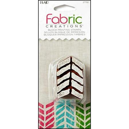 Fabric Stamp - Plaid Fabric Creations BP Stamp Small Tribal Chevron