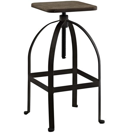 Fantastic Modern Contemporary Urban Design Industrial Antique Vintage Style Kitchen Room Bar Stool Chair Brown Metal Wood Customarchery Wood Chair Design Ideas Customarcherynet