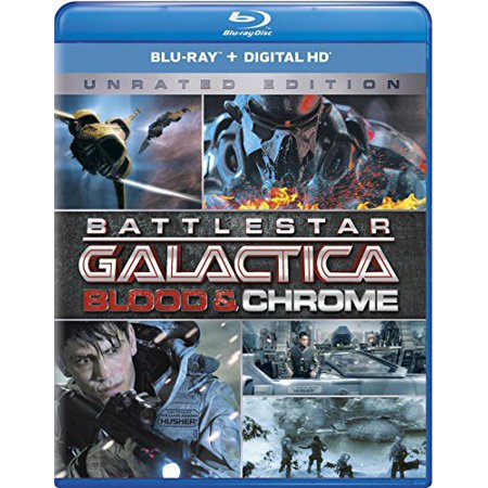 Battlestar Galactica  Blood   Chrome  Blu Ray   Digital Copy