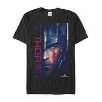 Marvel Men's Thor: Ragnarok Battle Paint T-Shirt