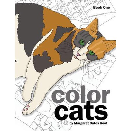 Color Cats Book One : Coloring Pages for