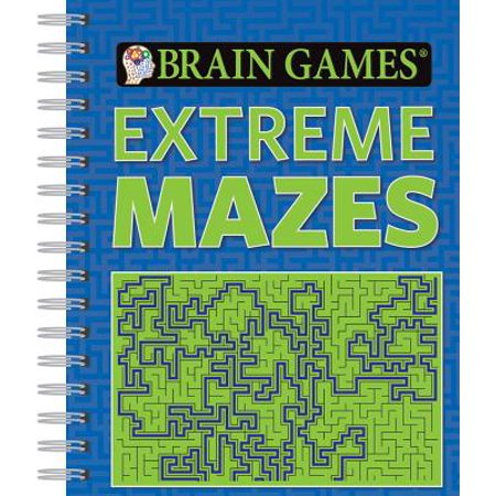 Brain Games Extreme Mazes - Halloween Maze Game