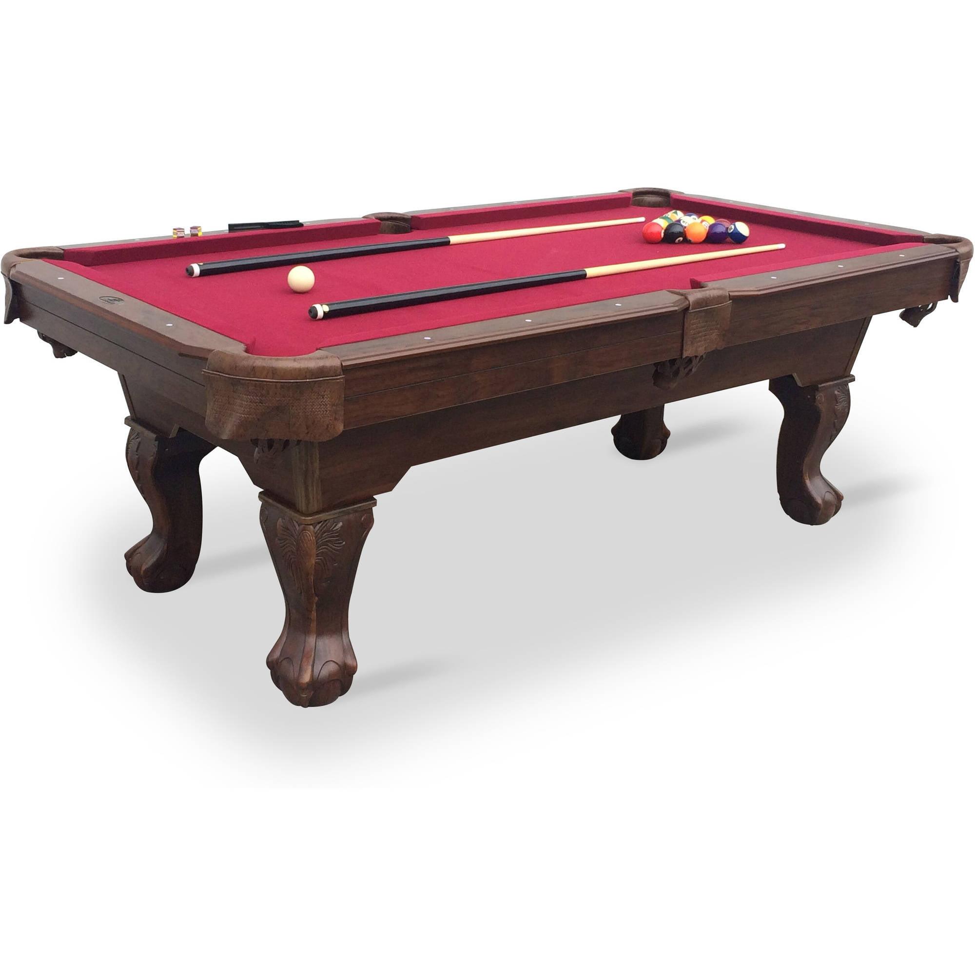 EastPoint Sports Brighton Billiard Pool Table Green Cloth - Pool table equipment near me