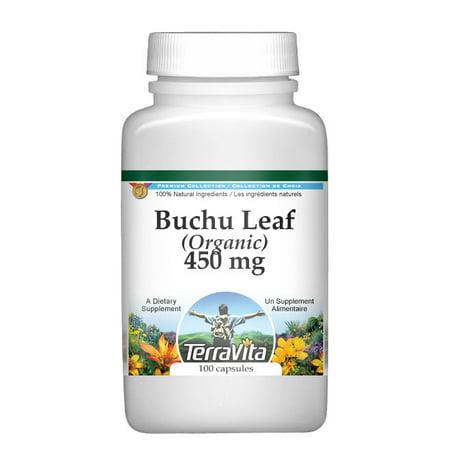 Buchu Leaf (Organic) - 450 mg (100 capsules, ZIN: (Buchu Leaves)
