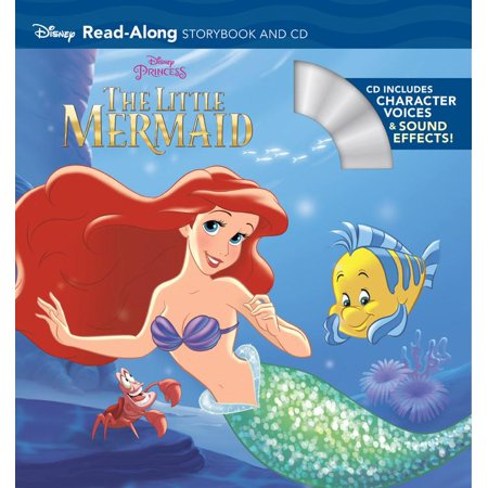 The Little Mermaid Read-Along Storybook and CD - Adult Little Mermaid Pajamas